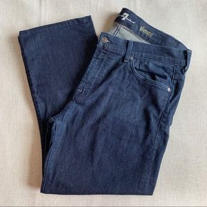 7 For All Mankind Men's Slimmy Jeans Size 36x35